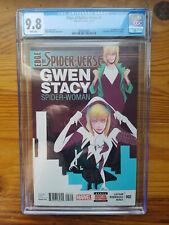 Edge of Spider-Verse #2 1st Print 💥 CGC 9.8 💥 First Spider-Gwen HOT