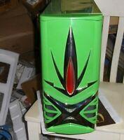 Green ePOWER Warrior ATX GAMING CASE VINTAGE GREEN  PENTIUM MID TOWER