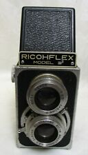 RICOHFLEX CAMERA WITH CASE AND STRAP, TWIN LENS REFLEX