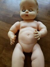"Vintage 1959-1964 Effanbee Drink and Wet Baby Doll 14"" tall"