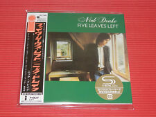 2017 NICK DRAKE Five Leaves Left  JAPAN MINI LP SHM CD