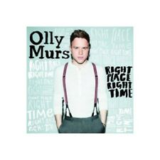 OLLY MURS - RIGHT PLACE RIGHT TIME  CD  12 TRACKS INTERNATIONAL POP  NEW+