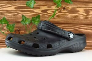 Crocs Size 7 M Black Clog Shoes Synthetic Women