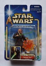 2002 Star Wars Saesee Tiin Jedi Master 02-20 Saga Collection Action Figure