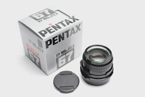 Latest Pentax 67 6x7 105mm F2.4 SMC lens, mint- in box