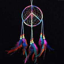 MS1095 Peace Sign Dream Catcher Wall Hanging Decoration Ornament Gift Home Car
