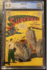 Superman #73 1951  CGC 6.5 Hank Garbing Man of Steel