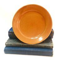 "Vintage BAUER LOS ANGELES PLATE 7"" California Pottery Bright ORANGE 020 Rare"