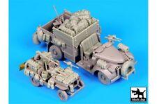 Black Dog T72065 1/72 British SAS Jeep & Chevrolet North Africa 1942 Access Set