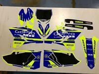 YAMAHA YZ 125 250 2015 - 2019 NEON FACTORY MOTOCROSS GRAPHICS KIT ENJOY MFG