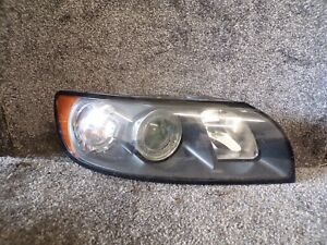 VOLVO V50 S40 2004-2007 DRIVER SIDE HEADLIGHT GREY BEZEL O/S/F