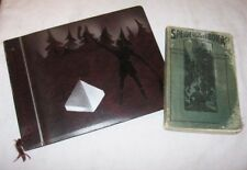 Norwegian Boy Scout Handbook & Photo Album 1938 Camping Norway Speiderguttboka