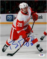 Brian Rafalsi Detroit Red Wings Autographed 8 x 10 Photo Psa/Dna COA