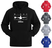 NEW Michael Air Legend 23 Jordan Wings Mens Hoodies Sweatshirts Men Sportswear