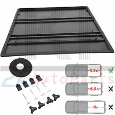 T3 Tri-Folding Soft Tonneau Cover Kit For 2009-2014 Ford F-150 5.5FT Truck Bed