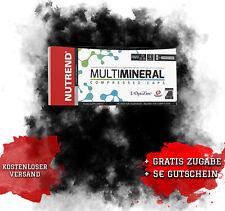 NUTREND Multimineral Compressed Caps 60, Gesundheit, Mineralstoffe,ZMA, Basen B0