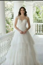 Sincerity 3968 Wedding Dress size 12, ivory, shop sample closing down sale