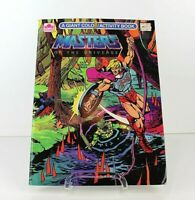 Vintage Masters of the Universe He-man, Golden Coloring Activity Book Swamp