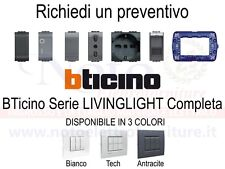 Bticino Livinglight - PREVENTIVO supporti placche interruttori prese accessori