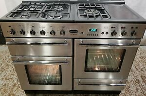 Rangemaster toledo 110 dual fuel stainless steel range cooker - DELIVERY AVAILAB