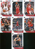 2019-20 Panini NBA Hoops Toronto Raptors Team Set of 7 Cards