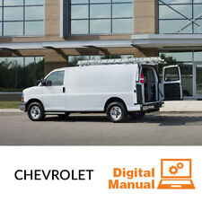 Chevrolet Van - Service and Repair Manual 30 Day Online Access