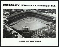 WRIGLEY FIELD CHICAGO Home of the Cubs VINTAGE 8x10 PHOTO