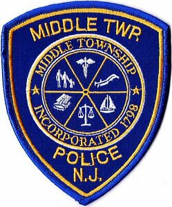 Middle TWP. Police New Jersey NJ   patch