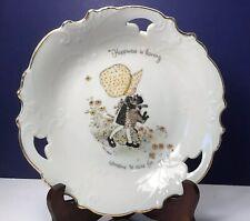 Vintage 1973 holly hobby plate/bowl