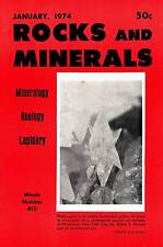 FIELD GUIDE ROCKS & MINERALS 1974 JANUARY JADE ROSES & RATTLERS