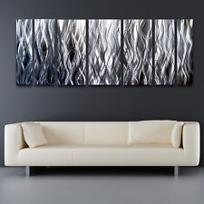 Modern Contemporary Abstract Metal Wall Sculpture Art Work Painting Home Decor