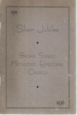1936 BROAD STREET METHODIST EPISCOPAL CHURCH Directory Year Book (Lancaster PA)