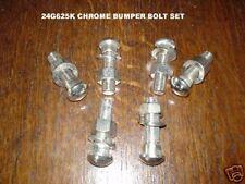 MGB chrome Bumper bolt set