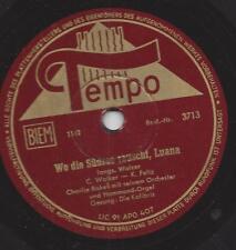 Charlie bakes Orchestra 1949: dove l'arida nei mari del sud, Luana