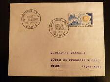 FRANCE PREMIER JOUR FDC YVERT 1009    ROTARY INTERNATIONAL    30F    PARIS  1955