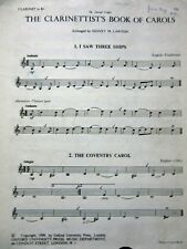 The Clarinetists Book of Carols  Christmas Sheet Music  OUP 1959
