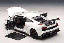 SONDERPREIS: 1/18 AUTOART LAMBORGHINI GALLARDO LP570 SUPER TROFEO STRADALE white
