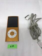 Apple Ipod Nano 4th Generation Orange (8GB) Aj633