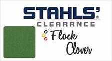"""12"""" x 5 Yards - Stahls' Flock Heat Transfer Vinyl HTV - Clover Green"""