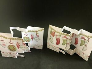 Home Decor Tom Smith 14 Luxury Christmas Cards With  Envelopes. 2 Designs