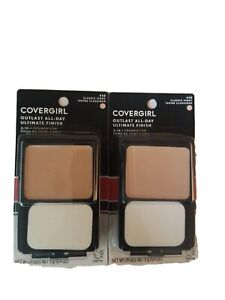 2 CoverGirl Outlast All-Day Ultimate Finish 3-in-1 Foundation Classic Ivory 410
