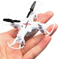 Original Syma X12S Nano 4CH 6-Axis Gyro RC Quadcopter Mini Micro Drone RTF White