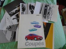 Opel Tigra press pack brochure 1996 Italian text