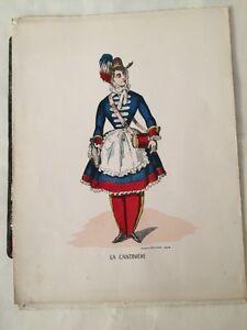 Image D'Epinal : La Cantinière vers 1970.
