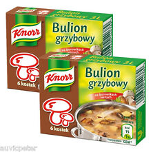 2x Knorr Mushroom Stock Cubes, Preservatives Free