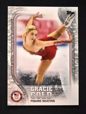 2018 Topps US Winter Olympics Base #us-14 Gracie Gold