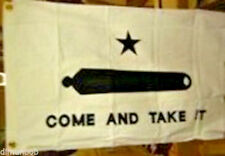 "100% Cotton ""Come and Take It Flag"" Texas Historical 3'x5' with free gift"