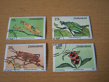 ZIMBABWE INSECT,F/USED.EXCELLENT.