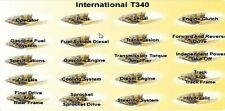 International T-340 Manual Set on Searchable Cd Operator Parts Service