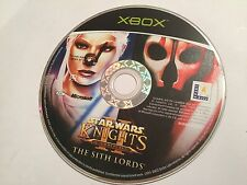 Star Wars Knights of the Old Republic II Señores Sith XBOX ORIGINAL PAL disco de juego